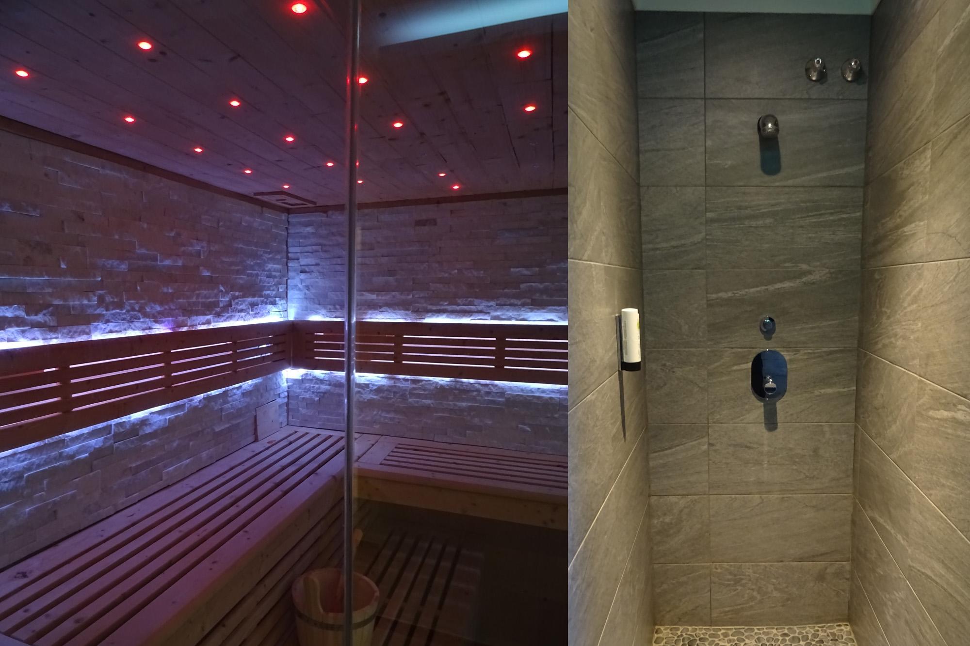 Saunabereich im Aktivhotel Winterberg