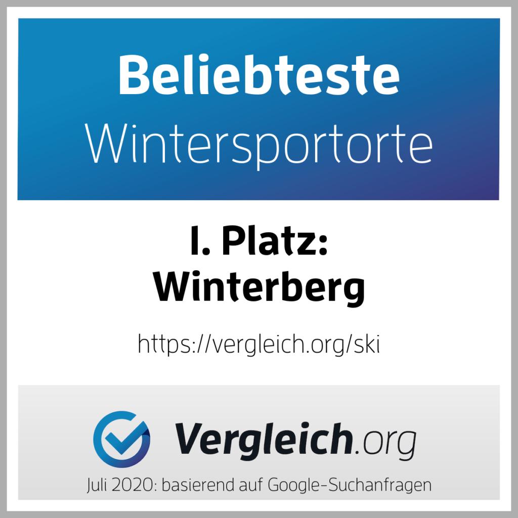 Winterberg Platz 1 Beliebteste Wintersportorte