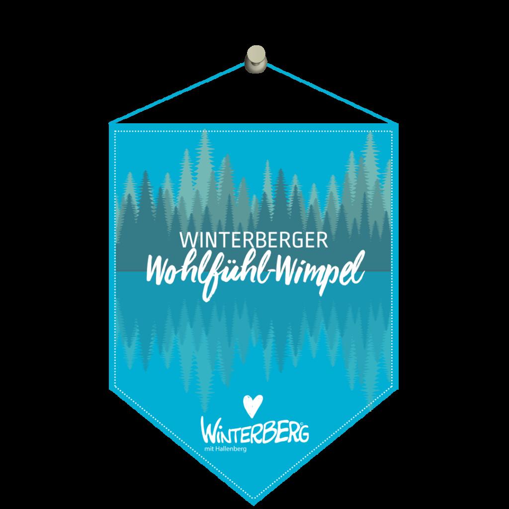 Winterberger Wohlfühl-Wimpel